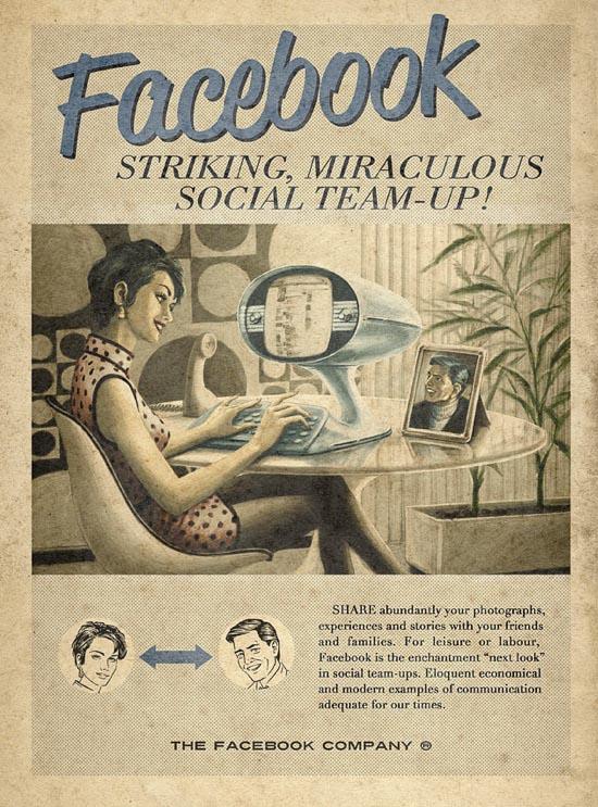 Retro Facebook