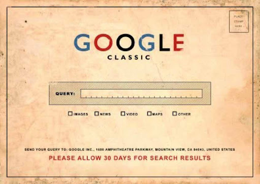 Retro Google